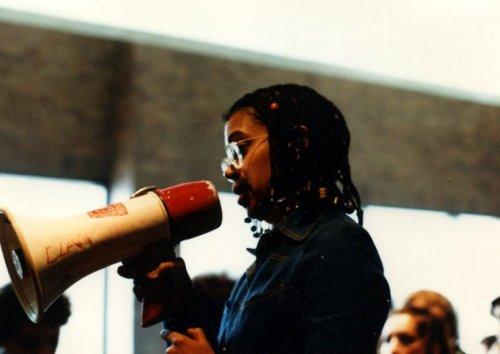 04.14.80: Student Protests Continue, Admin. Bldg.