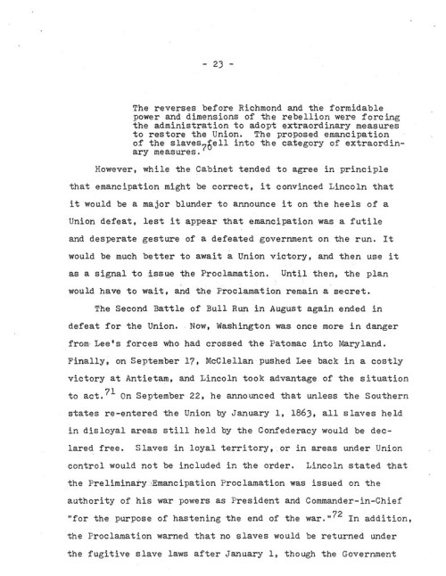 24-1977.12.XX -- Lincoln and the Causes of the Emancipation Proclamation (Graded) ML_Page_24