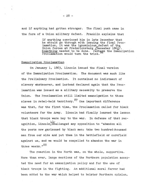 29-1977.12.XX -- Lincoln and the Causes of the Emancipation Proclamation (Graded) ML_Page_29