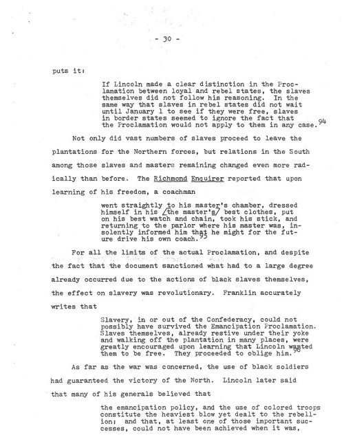 31-1977.12.XX -- Lincoln and the Causes of the Emancipation Proclamation (Graded) ML_Page_31